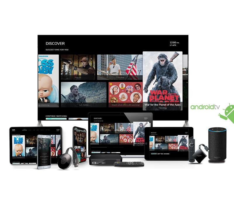 OpenTV Signature Edition with Android TV
