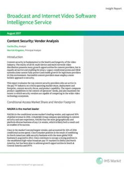 2017_IHS Markit Report_Content Security_Vendor Analysis